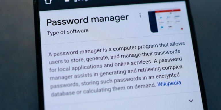 Как использовать менеджер паролей с вашим устройством Android
