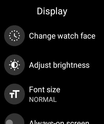 Как настроить циферблат на Wear OS