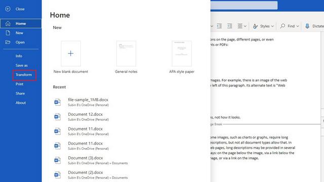 Как конвертировать документы Word в презентации PowerPoint