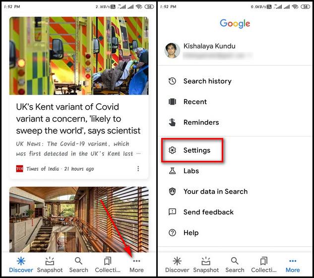 Как изменить голос и язык Google Assistant