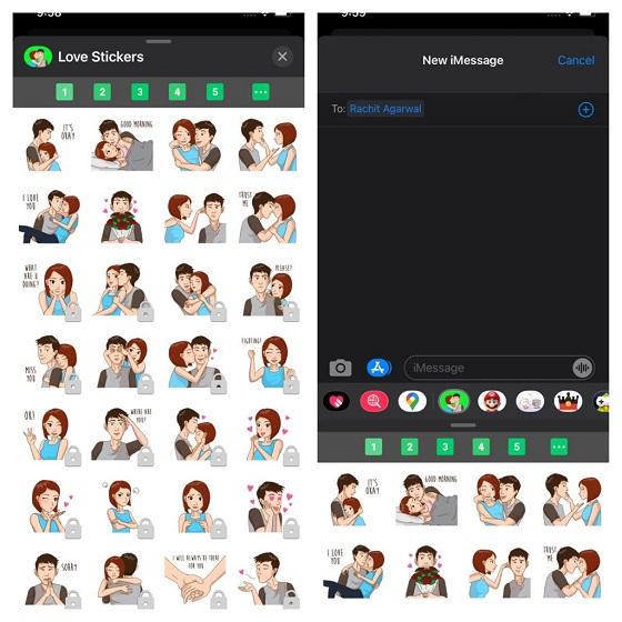 8 лучших наборов стикеров iMessage для iPhone и iPad