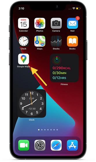 Как подключить Google Maps к Apple Music на iPhone