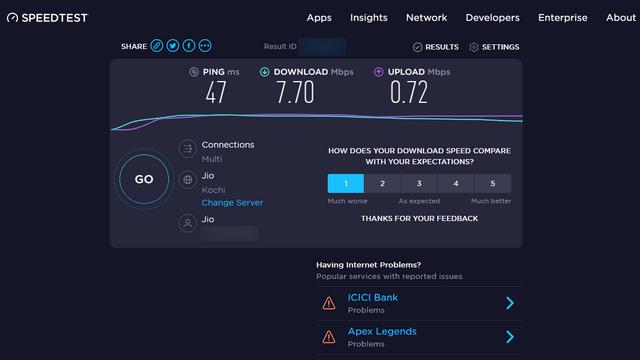 5 лучших сайтов для проверки скорости интернета, чтобы проверить скорость вашего интернета