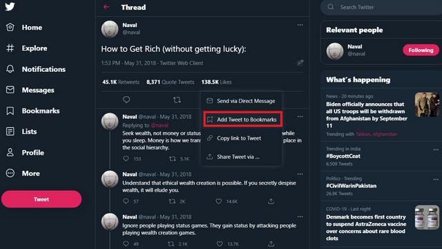 5 лучших способов сохранить темы в Твиттере в 2021 году (руководство)