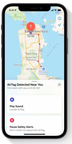Как отключить обнаруженный AirTag, который движется вместе с вами (Руководство)