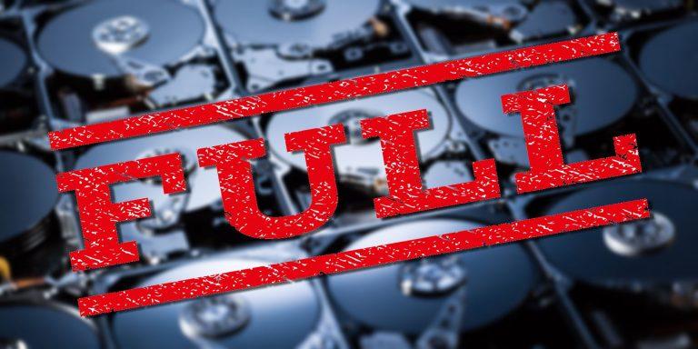 4 способа исправить ошибку «Недостаточно места на диске для обновления Windows 10»  Ошибка