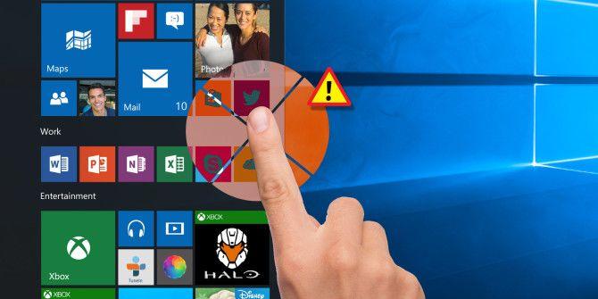 Как исправить неработающий сенсорный экран Windows 10