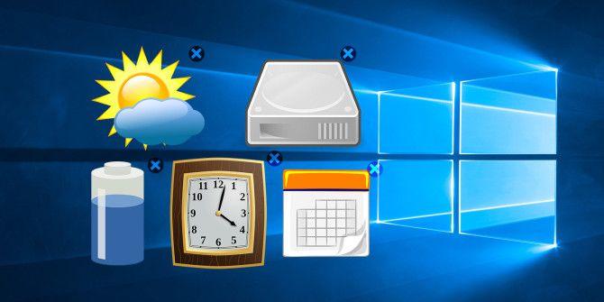 Как разместить виджеты Windows 10 на рабочем столе