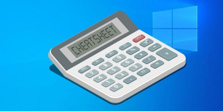 Калькулятор Windows: полная шпаргалка по горячим клавишам