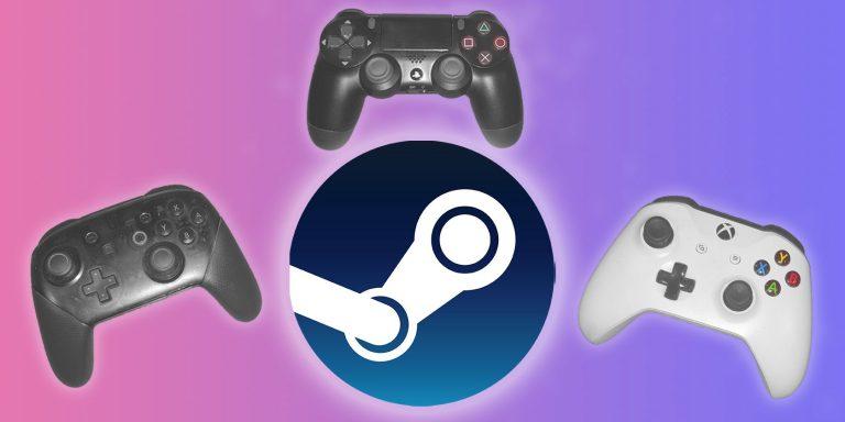 Как настроить и использовать консольные контроллеры в Steam