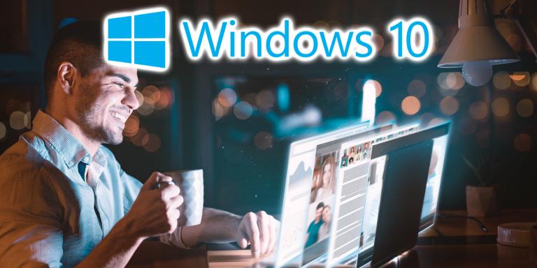 Теперь вы можете использовать новую ленту панели задач Windows 10 … если вам повезет