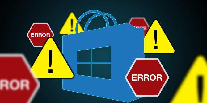 8 распространенных проблем с Microsoft Store и приложениями в Windows 10 (с исправлениями)