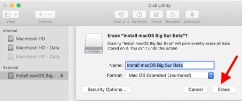 Как создать загрузочный установочный USB-накопитель macOS Big Sur