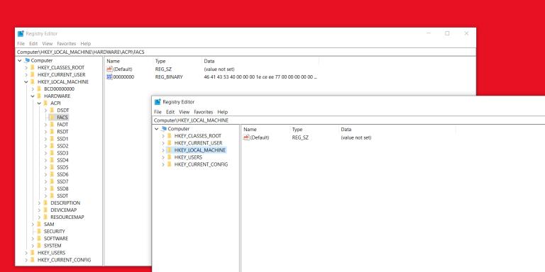 Как запустить несколько экземпляров Regedit в Windows 10