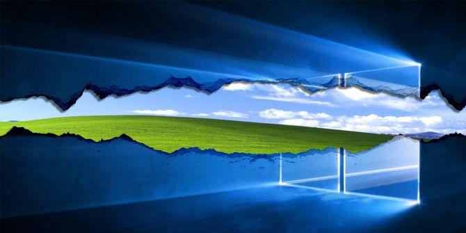 Как перейти с Windows XP на Windows 10