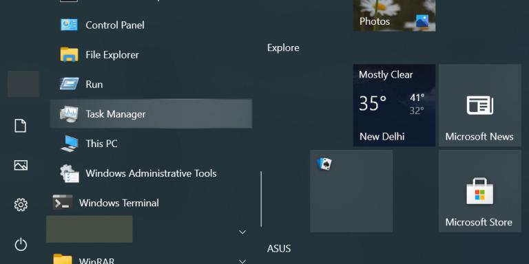 12 способов открыть диспетчер задач в Windows 10