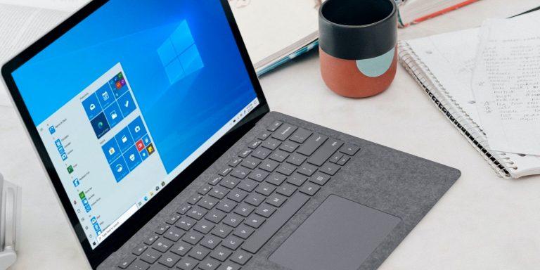 Как центрировать значки панели задач в Windows 10