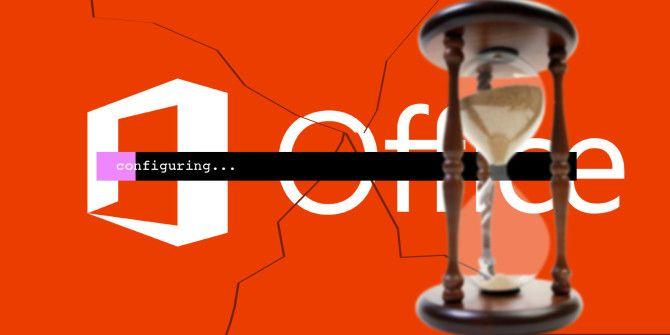 Как исправить ошибку & quot; Подождите, пока Windows настроит Microsoft Office & quot;  Сообщение
