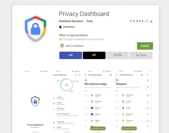 Как получить панель конфиденциальности Android 12 на любом телефоне