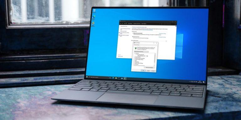 6 способов открыть параметры электропитания в Windows 10
