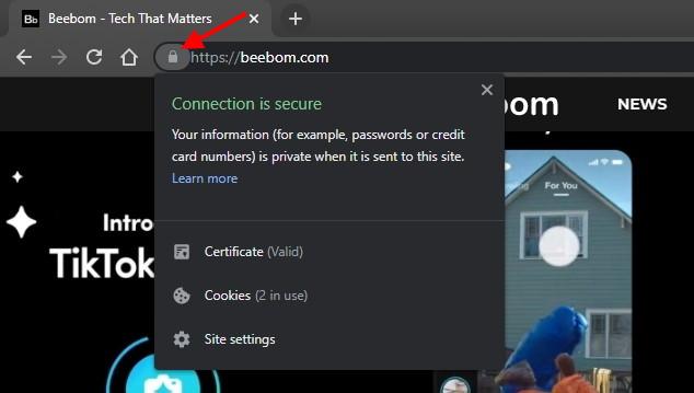 Как контролировать разрешения конфиденциальности для сайтов в Google Chrome