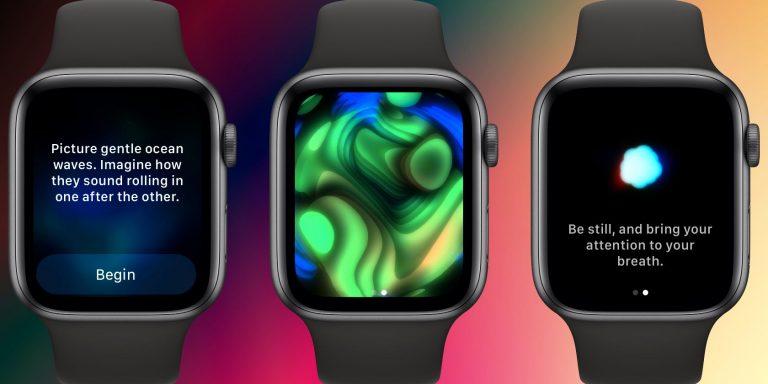 Как использовать приложение Apple Watch Mindfulness в watchOS 8