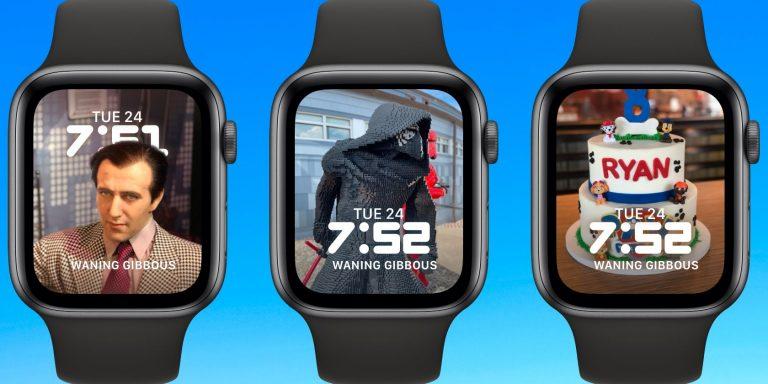 Как создать портретный циферблат на Apple Watch