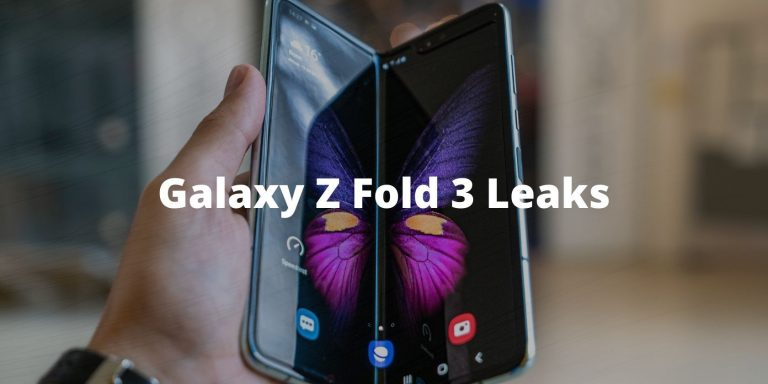 Samsung Galaxy Z Fold 3 просочился во всей красе в преддверии официального анонса
