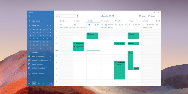 Тестировщики Windows 11 узнают о новой почте, календаре и калькуляторе