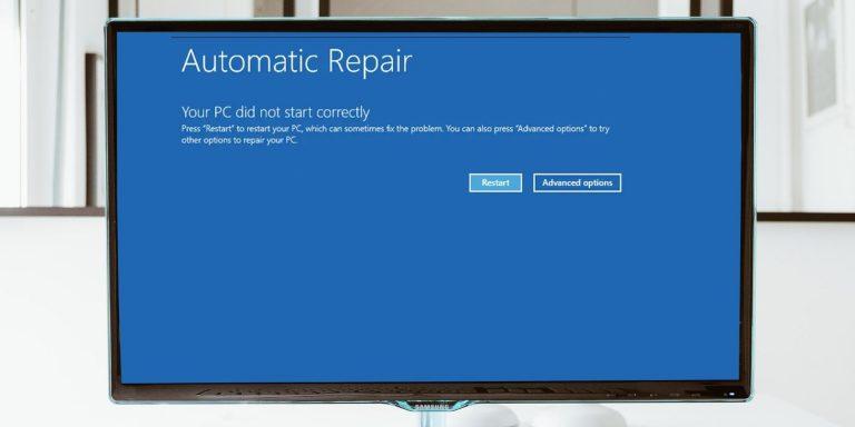 7 способов исправить ошибку «Ваш компьютер не запустился правильно»