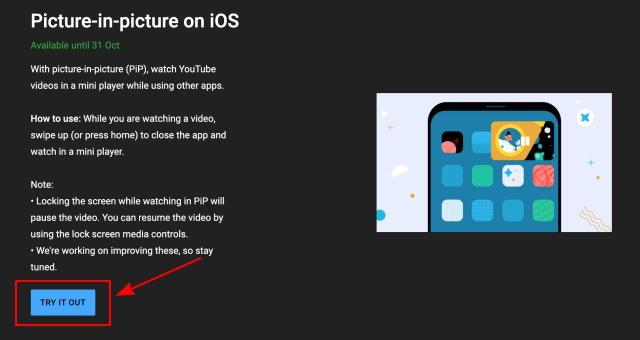 Как использовать YouTube Picture-in-Picture (PiP) на iPhone в 2021 году